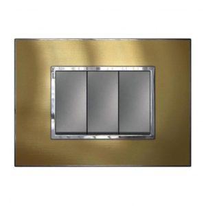 Mặt che thép vàng Arteor-Legrand
