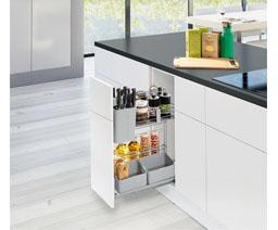 Phụ kiện tủ bếp Hafele là phụ kiện nội thất cao cấp nhập khẩu chính hãng từ Đức