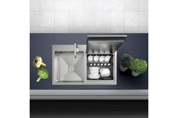 Chậu kết hợp máy rửa chén Hafele HDW-SD90A