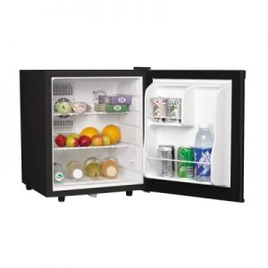 Tủ lạnh mini cửa đen HF-M42S