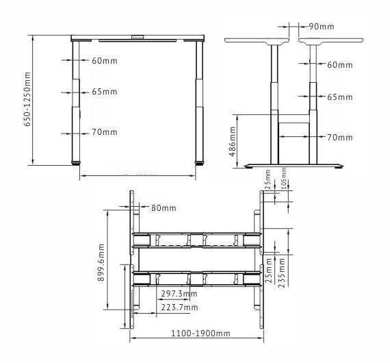 Smart Desk – Luxor Vecto ET2210