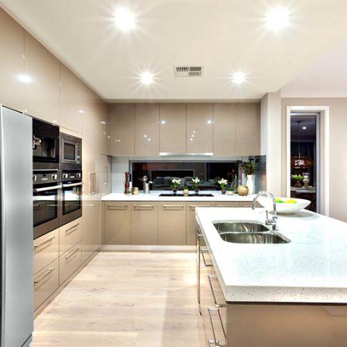 Tủ bếp Acrylic An Cường 6.500.000 tr/md - 0919098886