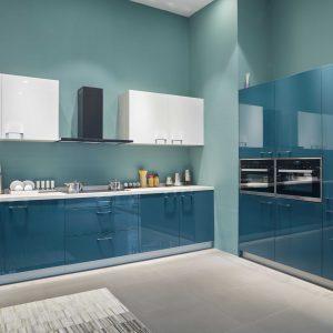 Tủ bếp Acrylic An Cường bóng gương - 0919098886